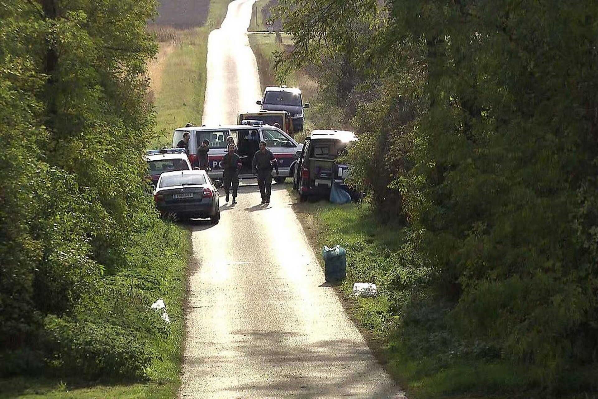 Kedden lezárták az utat is Cinfalva határában.